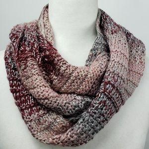Vince Camuto Dark Rose Sparkling infinity scarf
